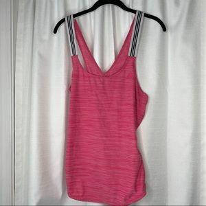 Adidas Pink Athletic Tank Top